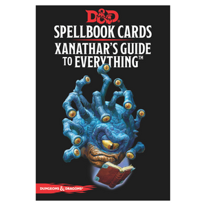 Spellbook Cards: Xanathar's Guide Deck