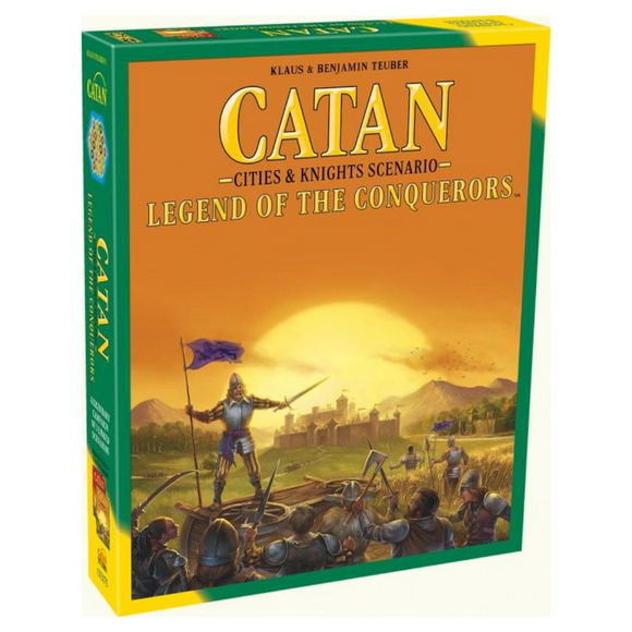 CATAN: Cities & Knights - Legend of the Conquerors