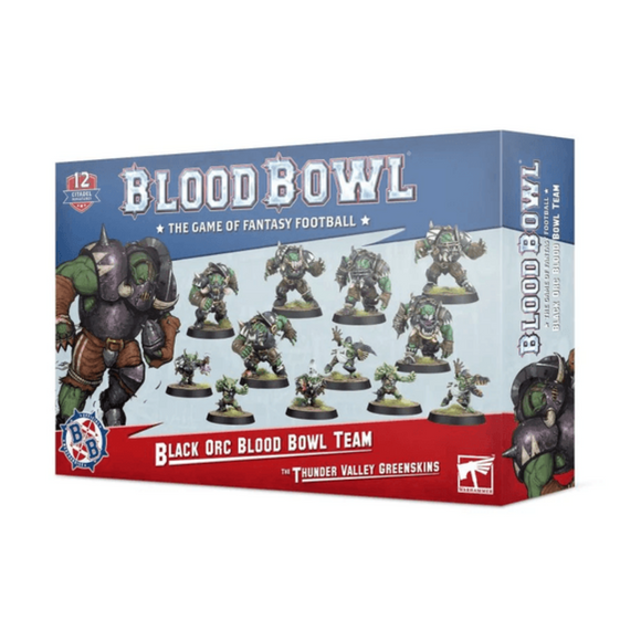 Blood Bowl: Black Orc Team - The Thunder Valley Greenskins