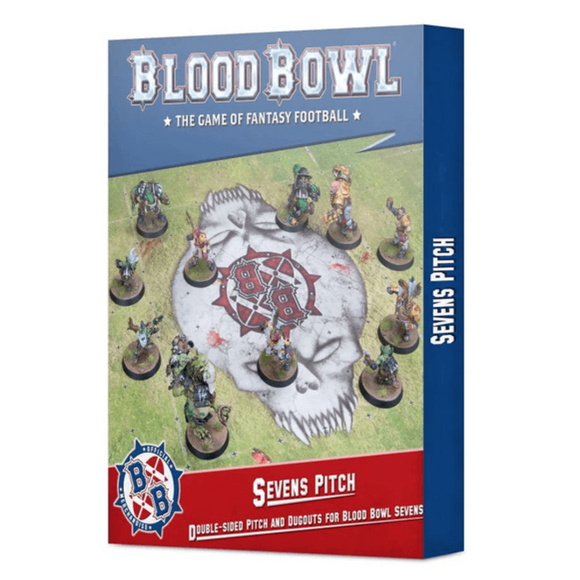 Blood Bowl: Sevens Pitch: Double-sided Pitch and Dugouts for Blood Bowl Sevens