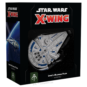 Star Wars X-Wing: 2nd Edition - Lando's Millennium Falcon