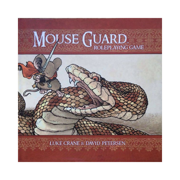 Mouse Guard RPG Hard Cover Core Book (2nd Edition)