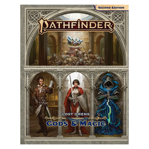 Pathfinder (2E): Lost Omens Gods and Magic Hard Cover