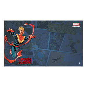 Marvel Champions: Captain Marvel Game Mat