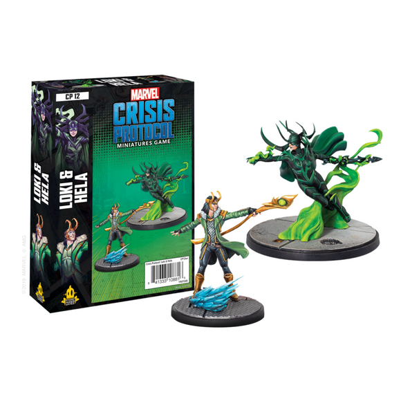 Marvel: Crisis Protocol - Loki and Hela Character Pack