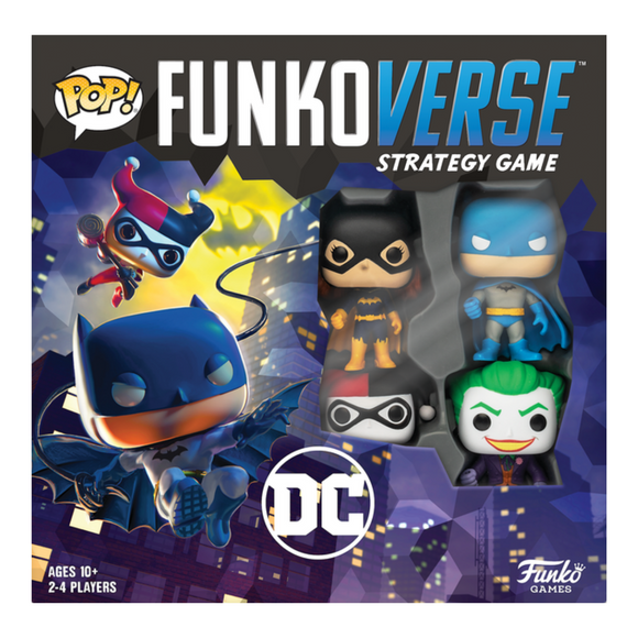 POP! Funkoverse Strategy Game DC Comics 100 Base Set