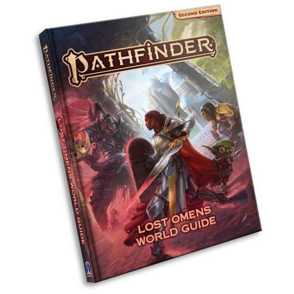 Pathfinder (2E): Lost Omens World Guide Hard Cover