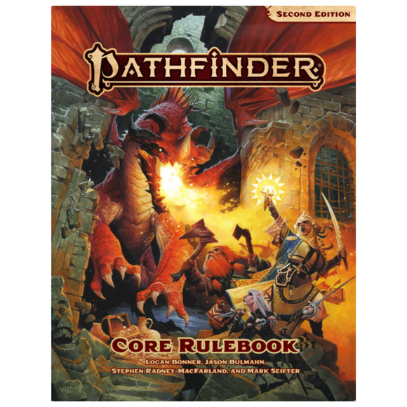 Pathfinder Core Rulebook (2nd Edition) Hard Cover