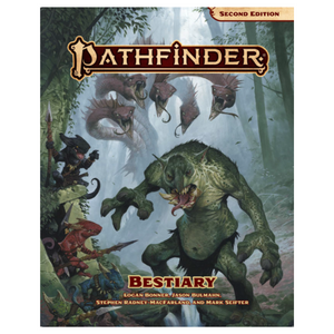 Pathfinder Beastiary (2nd Edition) Hard Cover