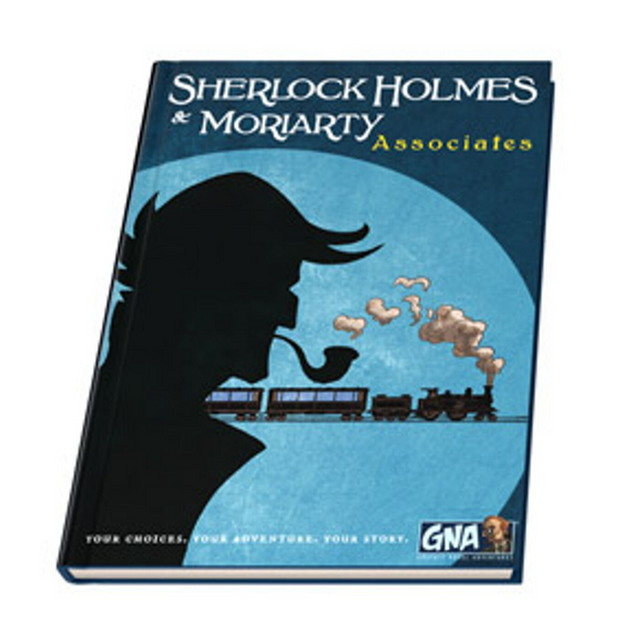 Graphic Novel Adventure: Sherlock Holmes and Moriarty - Associates