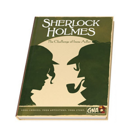 Graphic Novel Adventure: Sherlock Holmes - The Challenge of Irene Adler