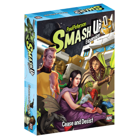 Smash Up: Cease and Desist