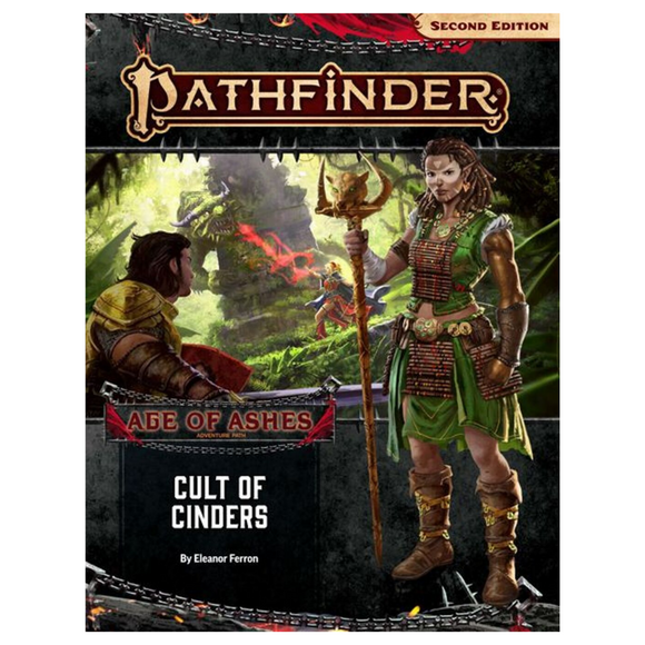Pathfinder (2E): Age of Ashes Part 2 - Cult of Cinders