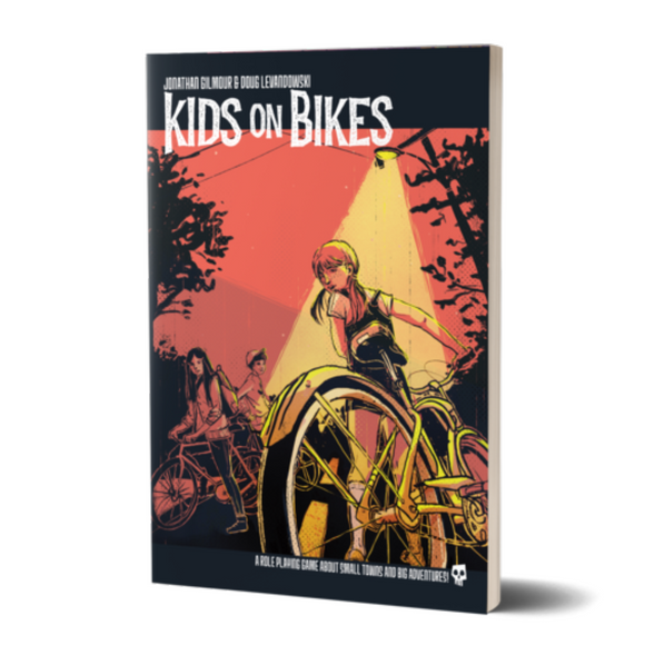 Kids on Bikes Core Rule Book