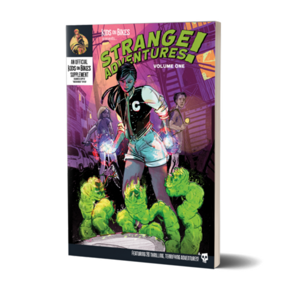 Kids on Bikes: Strange Adventures! Volume One