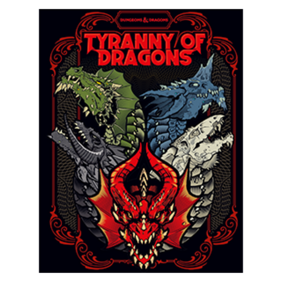 Dungeons & Dragons: Tyranny of Dragons (5E) (Alternate Cover)