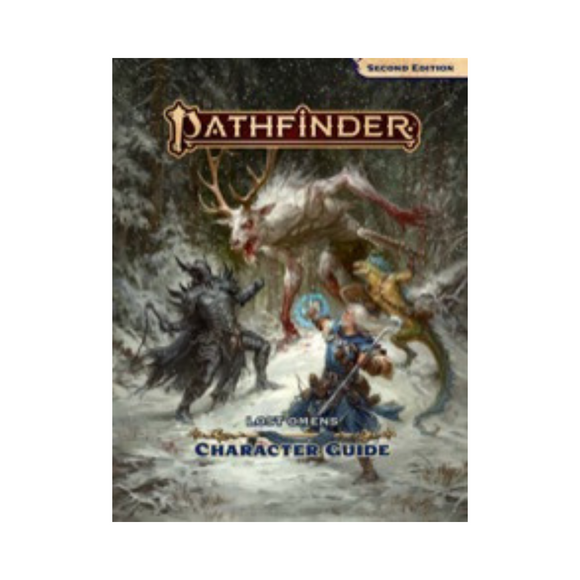 Pathfinder (2E): Lost Omens Character Guide Hard Cover
