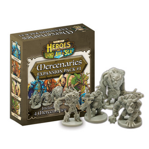 Heroes of Land, Air & Sea: Mercenary Pack 1