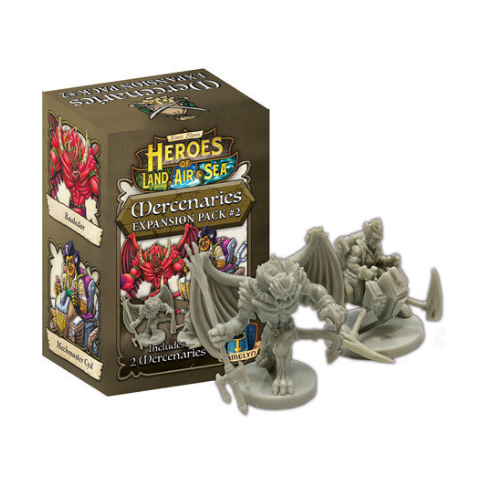 Heroes of Land, Air & Sea: Mercenary Pack 2