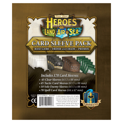 Heroes of Land, Air & Sea: Comprehensive Sleeve Pack