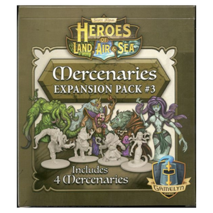 Heroes of Land, Air & Sea: Mercenary Pack 3