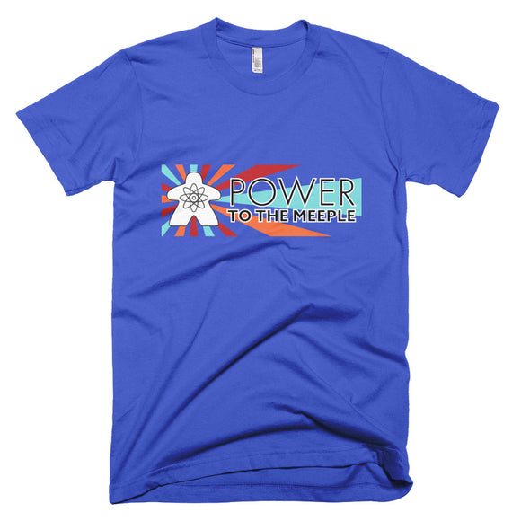 Power to the Meeple Short-Sleeve T-Shirt