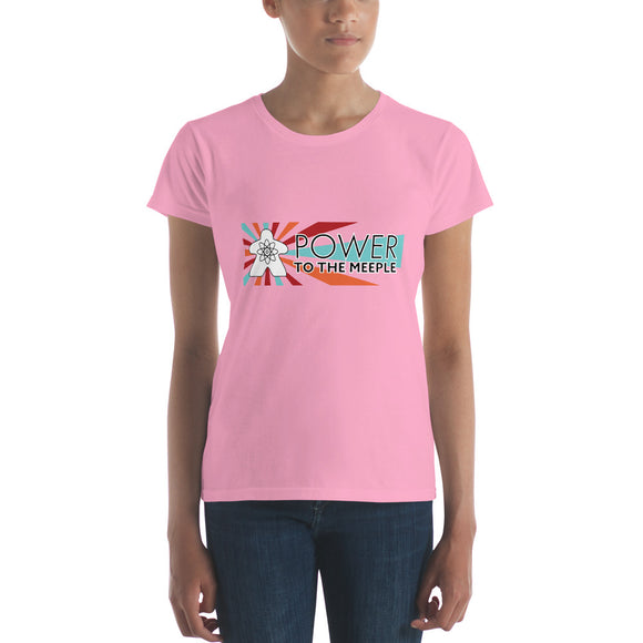 Power to the Meeple Women's short sleeve t-shirt