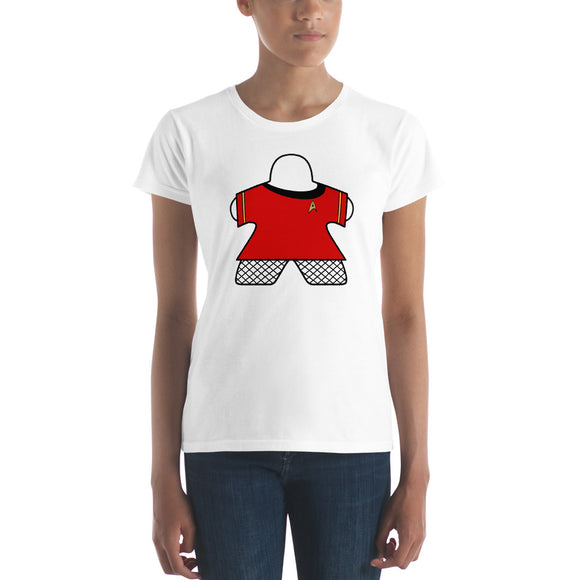 Lady Red Shirt Women's short sleeve t-shirt