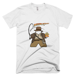 Meeple Jones Short-Sleeve T-Shirt