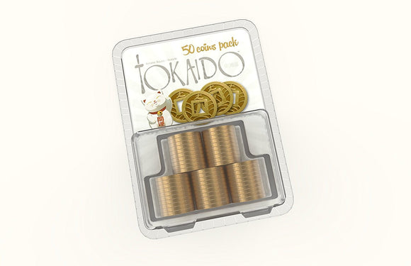 Tokaido: Metal Coins Accessory Pack