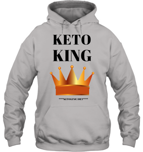 KETO KING | MEN & WOMEN | PREMIUM HOODIE |