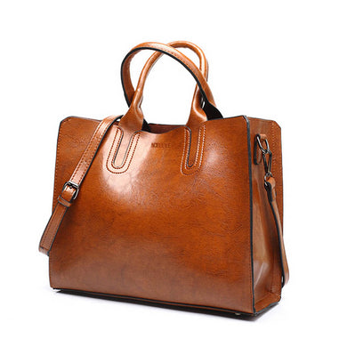 Leather Handbags Big Women Bag High Quality Casual Female Bags Trunk Tote Spanish Brand Shoulder Bag Ladies Large