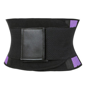 Women Trainer Waist Slimming Belt Waist Cincher Tummy Control Underbust Corset Waist Shaper Rubber Perforated Bodysuit