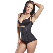 Load image into Gallery viewer, Waist Trainer Sweat Vest Latex 100% Waist Shaper Cincher Corsets Weight Loss Shapewear  Body Shapers Adjustable Straps