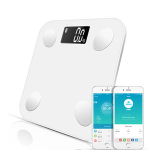 Bluetooth scales floor Body Weight Bathroom Scale Smart Backlit Display Scale Body Weight Body Fat Water Muscle Mass BMI