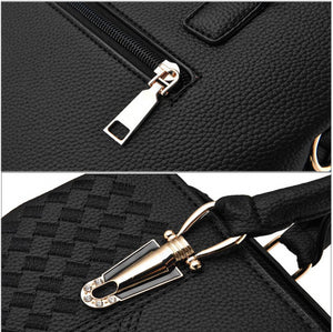 Embroidery Messenger Bags Women Leather Handbags  Bags for Ladies Hand Bag