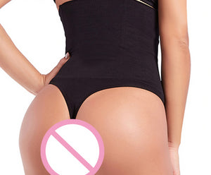Women Waist Cincher Boy Short Girdle Tummy Slimmer Sexy Thong Panty Shapewear High Waist Shaper Butt Lifter Control Panty