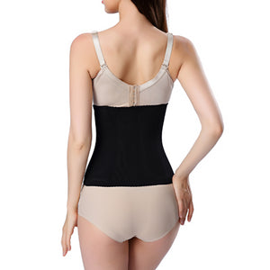 6 Hooks Waist Trainer Workout Breathable Belly Band Fitness Focused Waist Shaper Women Shapewear Plus Size Corset Body 6XL
