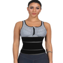 Load image into Gallery viewer, Neoprene Women Waist Trainer High Compression Girdle Waist Shape Corset  Sweat (Black M)
