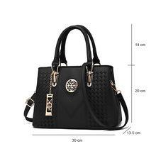 Load image into Gallery viewer, Embroidery Messenger Bags Women Leather Handbags  Bags for Ladies Hand Bag