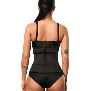 Clip and Zip 100% Latex Waist Cincher Corset Underbust Body Shaper Waist Trainer Abdominal Belt Plus Size