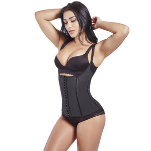 Waist Trainer Sweat Vest Latex 100% Waist Shaper Cincher Corsets Weight Loss Shapewear  Body Shapers Adjustable Straps