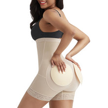 Load image into Gallery viewer, Corset Body Shaper High Waist Slimming Tummy Control Underwear Hip Butt lifter Shaperwear Plus Size