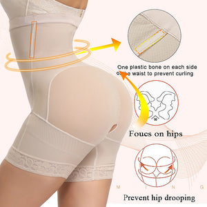 Plus Size Women Full Body Shapewear Underbust Slimming Mid thigh Shaper fajasTummy Control Seamless Postpartum Body Girdle