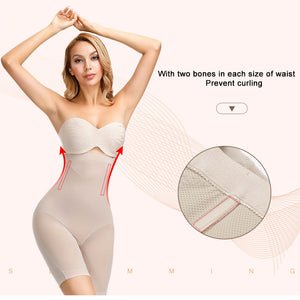 Women's Slimming Underwear Bodysuit Body Shaper Waist Trainer Shaper Shapewear Postpartum Recovery Butt Lifter Panties