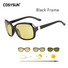 Load image into Gallery viewer, Luxury lady Photochromic Sunglasses Women Day Night vision Polarized women Glasses female shades original