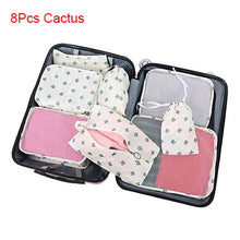 Load image into Gallery viewer, Travel Bags Sets Waterproof Packing Cube Sorting Organizer Luggage