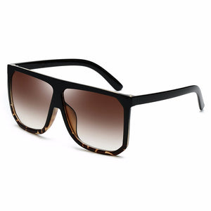 Sexy Square Sunglasses Women Fashion Brand Oversized Sun Glasses Female Black Brown Shades for Men Ladies
