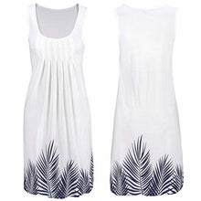 Load image into Gallery viewer, Summer Dresses For Women O-Neck Plus Size Sundress Long Party Sexy Print Vintage Sleeveless Dress Korean Fashion Female Clothing