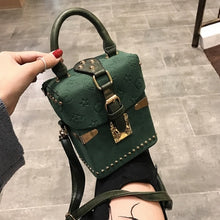 Load image into Gallery viewer, Women Handbags Box Package Square Bag Korean Version of the Wild Messenger Bag Square Mobile Messenger Bag